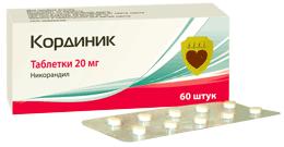 лекарство кординик инструкция цена