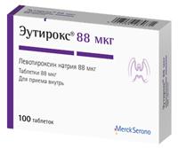 Эутирокс 88