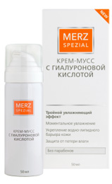 Крем-Мусс Мерц Специаль с гиалуроновой кислотой