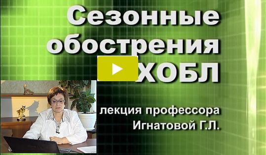 Видеолекция Г.Л.Игнатовой